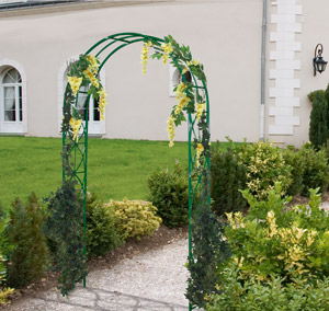 Arco de jard n en metal 39 arabesco 39 venta arco de jard n - Comment tailler une treille de raisin ...
