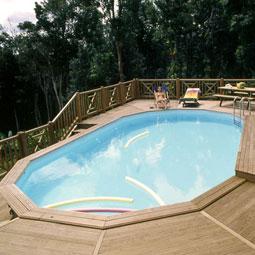 Piscina rectangular de madera 700 venta piscina - Piscina madera rectangular ...