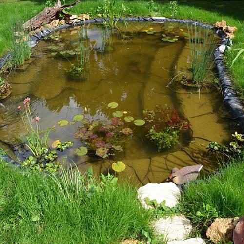 Lona para estanque 0 5 mm 4 x 4 m ubbink venta for Lona estanque barata