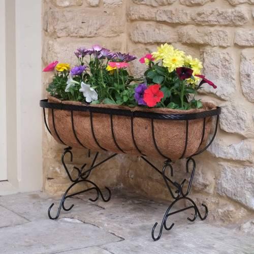 jardinera cuna en coco 60 x 30 x a40 cm