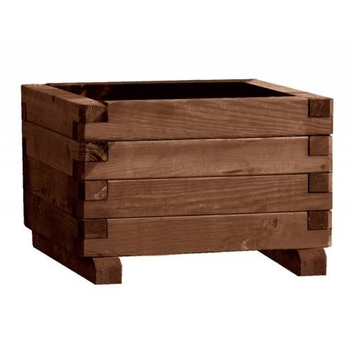 Jardinera de madera cuadrada 063 venta jardinera de - Jardineras de madera ...