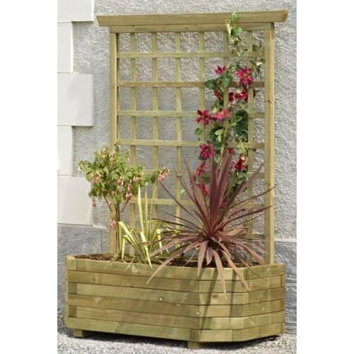 Jardinera de madera mural 130 celosia venta jardinera - Jardineras de madera caseras ...