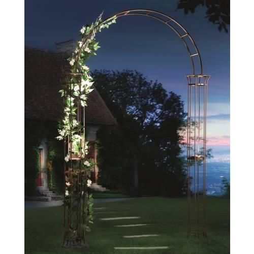 Arco solar de jard n estilo romano venta arco solar de for Arcos para jardin
