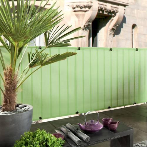 Lona de ocultación para balcón Verde : venta Lona de ocultación para ...