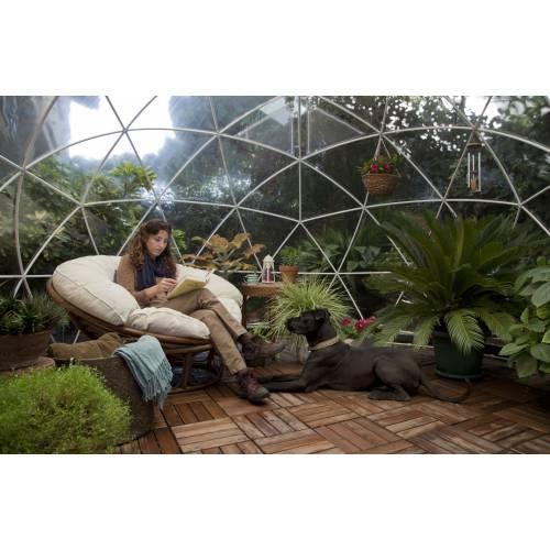 Cobertizo de jard n polivalente 10m garden igloo venta for Cobertizo jardin