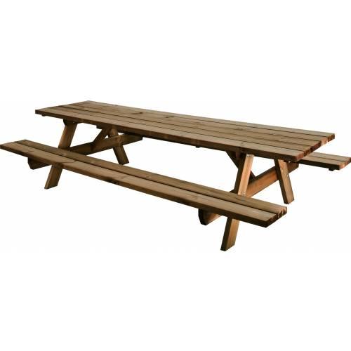 Mesa de jard n de madera garden 300b - Mesas de madera de jardin ...
