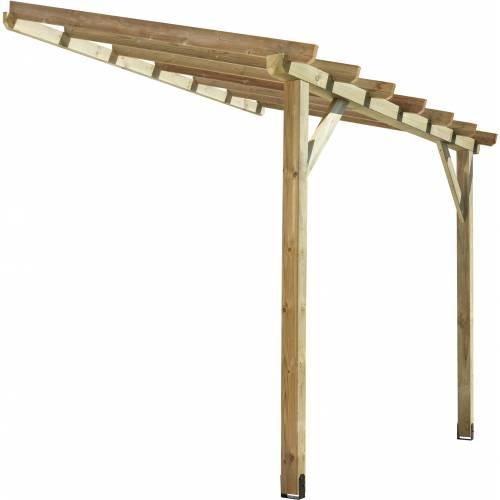 p rgola de madera adosada 2 9 x 2 m venta p rgola de