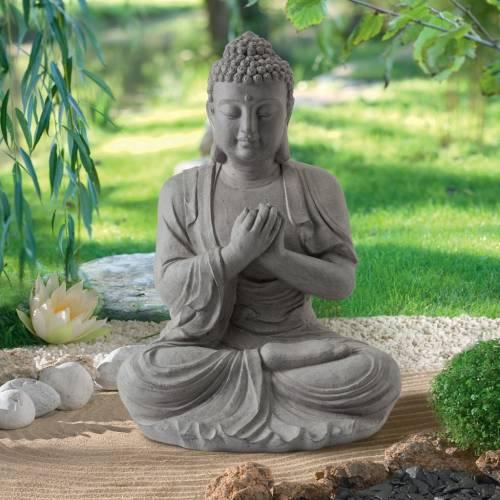 Estatua de jard n zen buda altura 60 cm venta estatua for Estatuas jardin