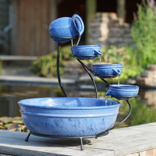 Fuente de jard n de cer mica ubbink venta fuente de for Jardineras de ceramica