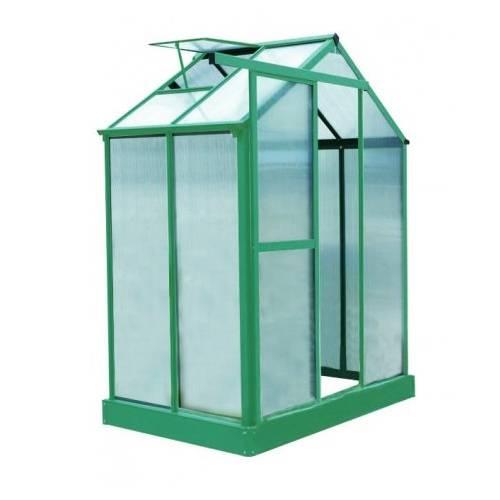 Invernadero de policarbonato 2 23m2 capucine venta - Invernaderos de terraza ...