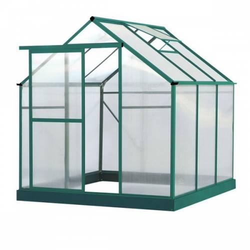 Invernadero de policarbonato 5 06m2 lilas venta - Invernaderos de jardin baratos ...