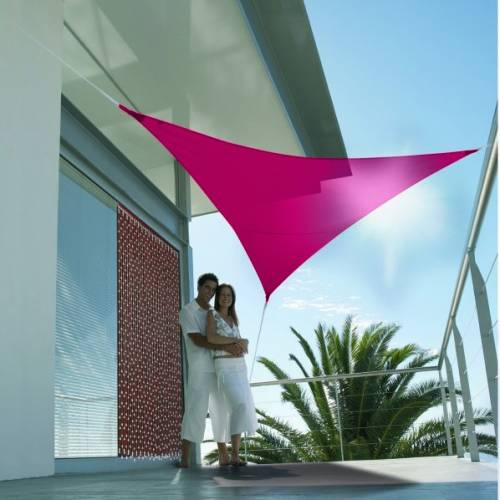 lona parasol impermeable triangular fucsia venta lona parasol impermeable triangular fucsia. Black Bedroom Furniture Sets. Home Design Ideas