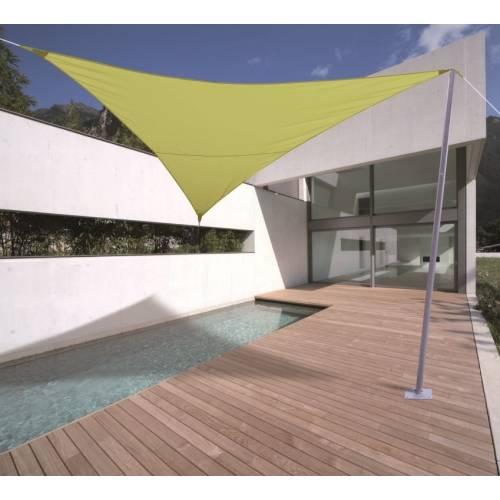 Lona parasol impermeable triangular verde an s venta - Lonas para el sol ...