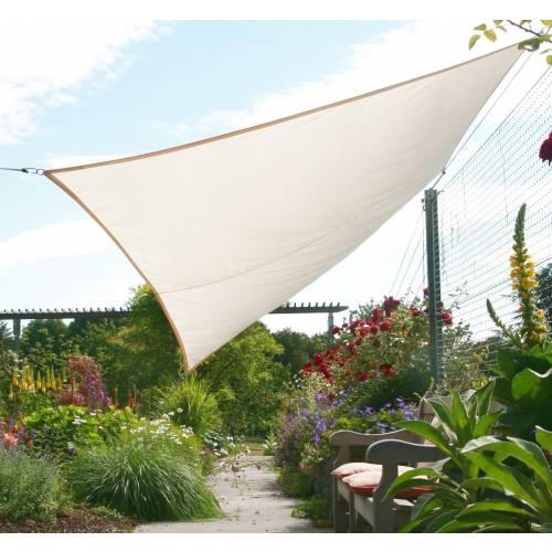 Lona parasol impermeable rectangular marfil venta lona - Lonas para el sol ...
