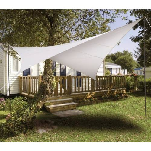 Lona parasol impermeable cuadrada blanca venta lona - Lonas para el sol ...